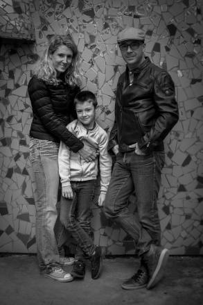 Fleur, Clément et Maxime à Thoiry