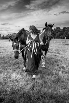 Tiffany et ses poneys